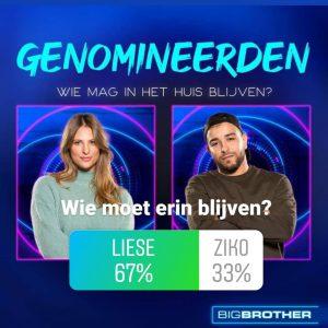 Liese en Ziko genomineerd